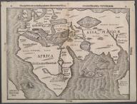 Die eigentliche und warhafftige gestalt der Erden und des Meers: Cosmographica Universalis., Die eigentliche und warhafftige gestalt der Erden und des Meers: Cosmographica Universalis.
