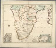 Nieuwe Caarte van Kaap de Goede Hoop en't Zuyderdeel van Africa., Nieuwe Caarte van Kaap de Goede Hoop en't Zuyderdeel van Africa.