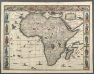 Africae, described, the manners of their Habits, and buildinge: ..., Africae, described, the manners of their Habits, and buildinge: ...