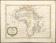 L'Africa divisa nelle sue principali parti., L'Africa divisa nelle sue principali parti.