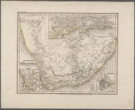 Neueste Karte von Sud Africa Nach den besten Quellen entworf und gezeichn von ..., Neueste Karte von Sud Africa Nach den besten Quellen entworf und gezeichn von ...