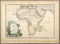 L'Afrique divisee en ses principaux Etats., L'Afrique divisee en ses principaux Etats.