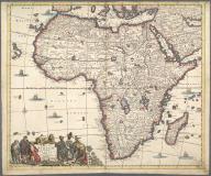 Totius Africae Accuratissima Tabula., Totius Africae Accuratissima Tabula.