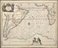 Mar di Aethiopia vulgo Oceanus Aethiopicus., Mar di Aethiopia vulgo Oceanus Aethiopicus.
