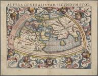 Altera Generalis Tab. Secundum Ptol., Altera Generalis Tab. Secundum Ptol.