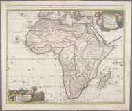 L'Afrique divisee suivant l'estendue de ses principales parties, ou sont distinque's les uns des autres, les Empires, Monarchies, Royaumes, Estats et Peuples qui partagent aujourd'hui L'Afrique sur les relations les plus nouvelles ..., L'Afrique divisee suivant l'estendue de ses principales parties, ou sont distinque's les uns des autres, les Empires, Monarchies, Royaumes, Estats et Peuples qui partagent aujourd'hui L'Afrique sur les relations les plus nouvelles ...