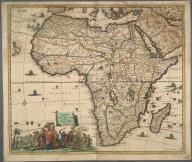 Accuratissima Totius Africae Tabula in Lucem producta ..., Accuratissima Totius Africae Tabula in Lucem producta ...