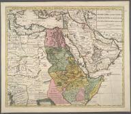 Carte de l'Egypte, de Ia Nubie, de l'Abissinie., Carte de l'Egypte, de Ia Nubie, de l'Abissinie.