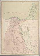 Egypt with part of Arabia and Palestine. Compiled from the draughts of the Scientific Institute established at Cairo 1800., Egypt with part of Arabia and Palestine. Compiled from the draughts of the Scientific Institute established at Cairo 1800.