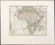 L'Afrique divisee en ses principales parties., L'Afrique divisee en ses principales parties.