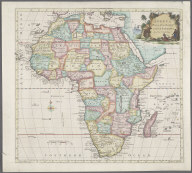 Africa Drawn from the latest and best Authorities., Africa Drawn from the latest and best Authorities.