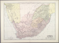 Map of South Africa., Map of South Africa.