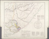 Map of the Eastern Frontier of the Colony of the Cape of Good Hope., Map of the Eastern Frontier of the Colony of the Cape of Good Hope.