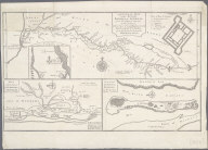 A General Map of the River Sanaga or Senegal from the Falls of Govina to the Ocean, Taken from a French Engineer in 1718., A General Map of the River Sanaga or Senegal from the Falls of Govina to the Ocean, Taken from a French Engineer in 1718.