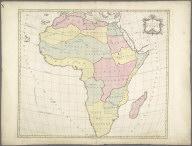 (1e) Carte d'Afrique, 1754 -- (2e) Carte d'Afrique, 1754, (1e) Carte d'Afrique, 1754 -- (2e) Carte d'Afrique, 1754