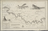 (1) A Map of the River Gambia from its Mouth to Eropina by Capt. John Leach in 1732 -- (2) ... Gambia from Eropina to Barra Kunda ... 1732., (1) A Map of the River Gambia from its Mouth to Eropina by Capt. John Leach in 1732 -- (2) ... Gambia from Eropina to Barra Kunda ... 1732.