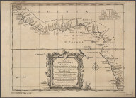 A Chart of the Western coast of Africa from the twelfth degree of Latitude North to the eleventh degree South. Drawn from the French Chart of the Western Ocean ... 1738 by order of the Count de Maurepas., A Chart of the Western coast of Africa from the twelfth degree of Latitude North to the eleventh degree South. Drawn from the French Chart of the Western Ocean ... 1738 by order of the Count de Maurepas.