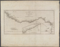 An accurate Copy of d'Anville's Map of the Coast of Guinea Between Sierra Leona and the crossing of the Line., An accurate Copy of d'Anville's Map of the Coast of Guinea Between Sierra Leona and the crossing of the Line.