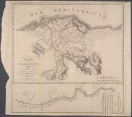 Carte de la Basse Egypte ... Armée de l'Orient -- Carte de la Haute Egypte., Carte de la Basse Egypte ... Armée de l'Orient -- Carte de la Haute Egypte.