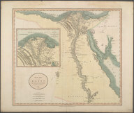 A New Map of Egypt ..., A New Map of Egypt ...