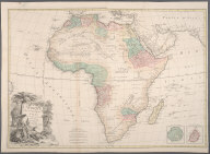 L'Afrique divesee en ses principaux etats., L'Afrique divesee en ses principaux etats.