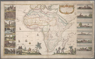 To Her Most Sacred Majesty Caroline, Queen of Great Britain, France and Ireland this Mapp of Africa, after the latest and best Observations is most humbly dedicated ..., To Her Most Sacred Majesty Caroline, Queen of Great Britain, France and Ireland this Mapp of Africa, after the latest and best Observations is most humbly dedicated ...