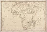 Carte Physique et Politique de L'Afrique., Carte Physique et Politique de L'Afrique.