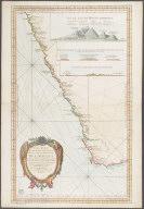 Carte Reduite d'une partie des costes occidentales et meridionales de l'afrique depuis Cabo Frio ou Cap Froid par les 19 degres de latitude merid. jusqu'a la baye S. Blaise pour servir aux vaissaux de la francais ... par ordre de M. Rouille ..., Carte Reduite d'une partie des costes occidentales et meridionales de l'afrique depuis Cabo Frio ou Cap Froid par les 19 degres de latitude merid. jusqu'a la baye S. Blaise pour servir aux vaissaux de la francais ... par ordre de M. Rouille ...