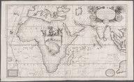 Route maritime de Brest a Siam, et de Siam a Brest, faite en 1685 et 1686 selon les remarques des six Peres Jesuites, envoiez par le Roy de France en qualite de ses Mathematiciens dans les Indes, et la Chine. Dresse par le Pere Coronelli ..., Route maritime de Brest a Siam, et de Siam a Brest, faite en 1685 et 1686 selon les remarques des six Peres Jesuites, envoiez par le Roy de France en qualite de ses Mathematiciens dans les Indes, et la Chine. Dresse par le Pere Coronelli ...