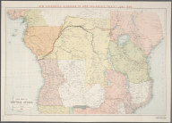 New map of Central Africa / by J.G. Bartholomew., New map of Central Africa / by J.G. Bartholomew.
