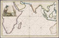 Carte reduite de l'ocean oriental ou mer des indes ... par ordre de M. de Machault ..., Carte reduite de l'ocean oriental ou mer des indes ... par ordre de M. de Machault ...