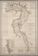 Carte hydrographique de la partie meridionale de la haute Egypte ... / Par M. Linant de Bellefonds., Carte hydrographique de la partie meridionale de la haute Egypte ... / Par M. Linant de Bellefonds.