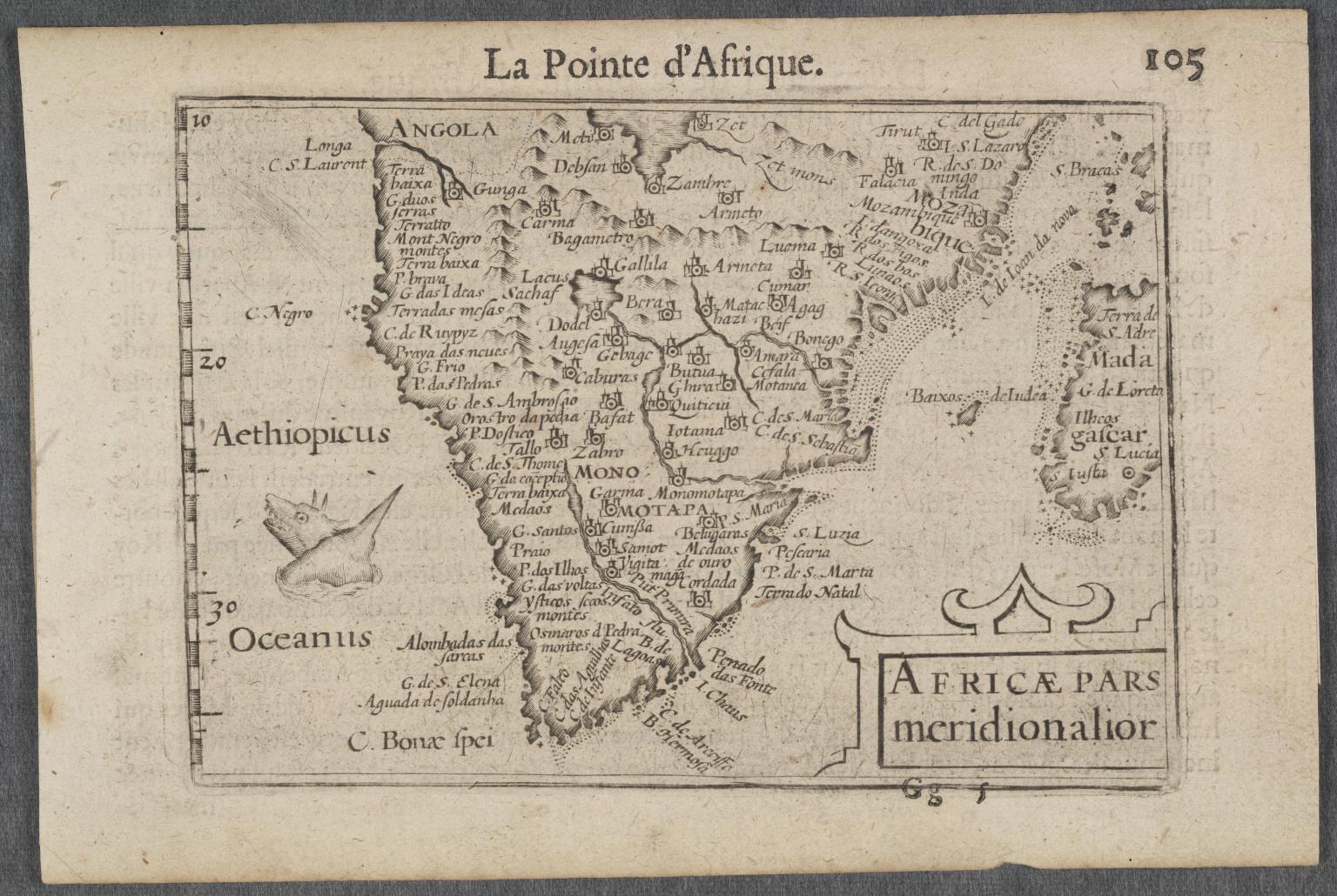 Africae Pars meridionalior.