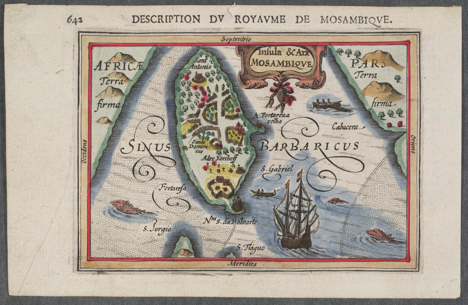 Insula and Arx Mozambique.