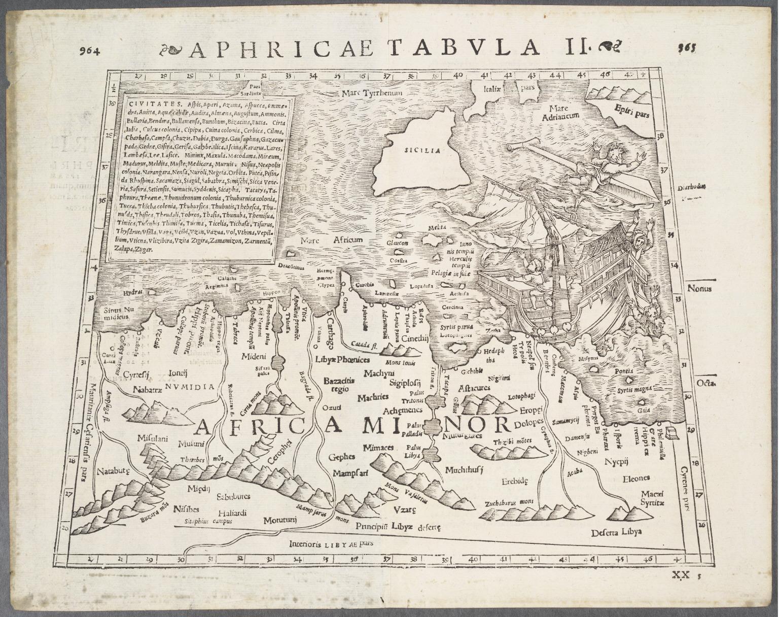 Aphricae Tabula II.
