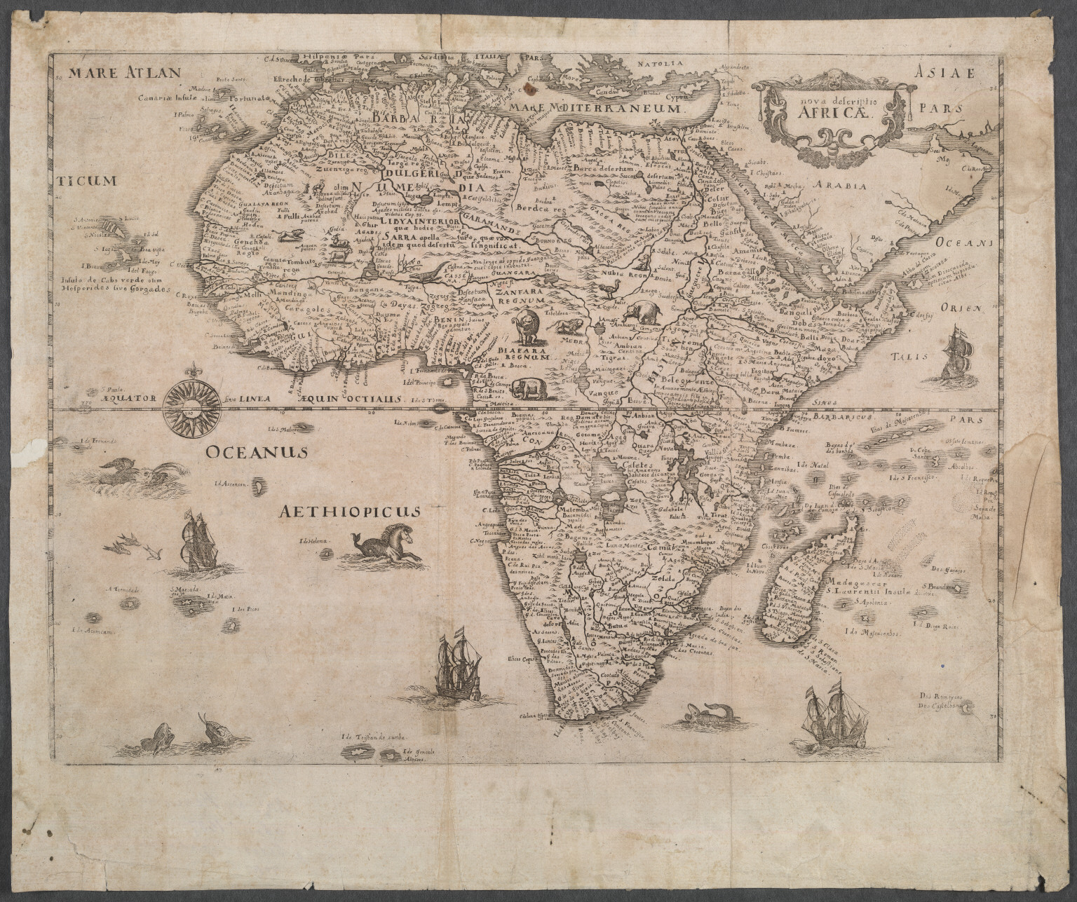 Nova descriptio Africae.