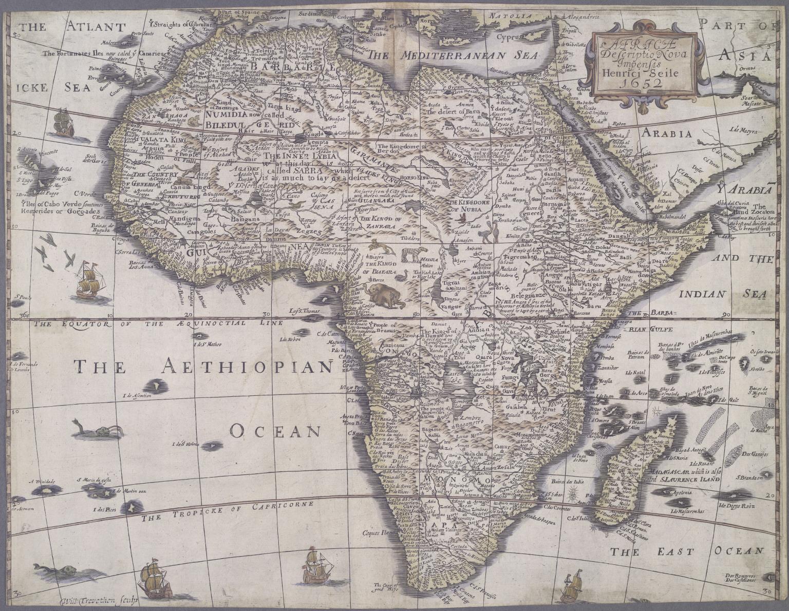 Africae Descriptio Nova Impensis.
