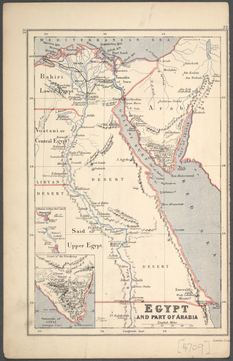 Egypt and Part of Arabia.